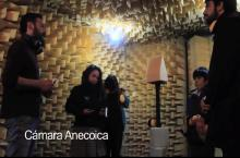 Alumnos de CIFAN Valdivia visitaron laboratorios de Acústica UACh