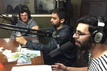 """Estudiantes de Ingeniería Civil Informática realizan programa radial """"Configuración por defecto"""" en la Radio UACh 90.1 FM"""